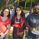 Kat, Natalia & Shyam - Lab Bonfire Summer 2015